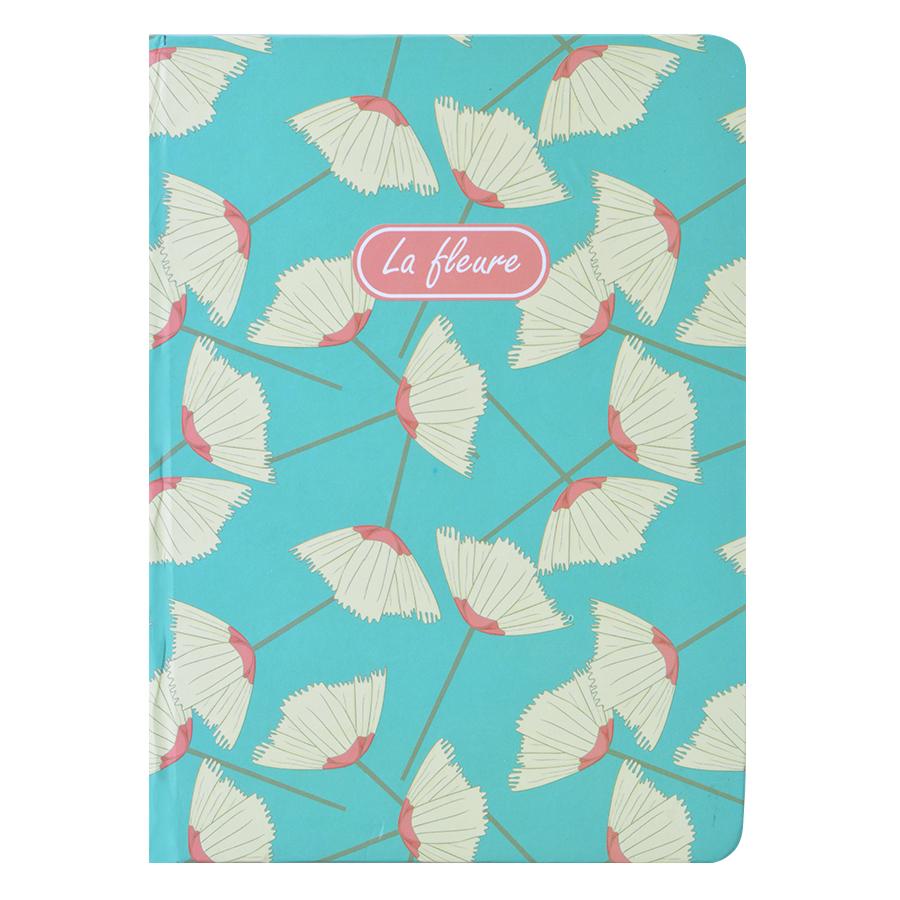 Sổ Tay Kẻ Ngang Crabit Notebuck La Fleur 1002c (17.5 x 12.5 cm)