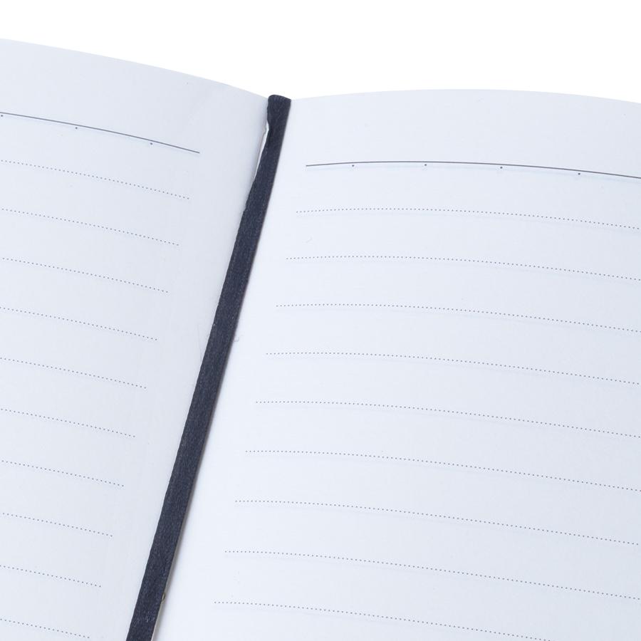 Sổ Tay Kẻ Ngang Crabit Notebuck Healthy Way Of Life 1003c - Vàng (17.5 x 12.5 cm)