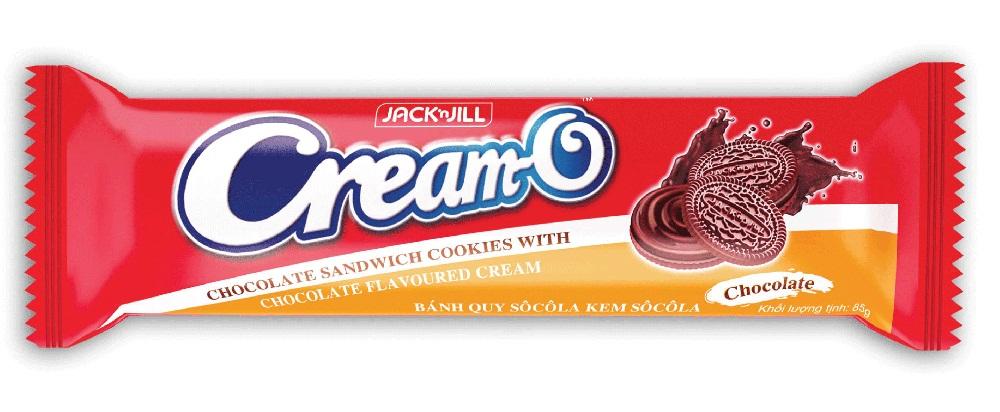 Bánh Quy Cream-O Brown Choco 85g
