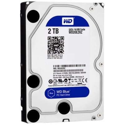 Ổ Cứng HDD WD Blue 2TB/64MB/5400/3.5  - WD20EZRZ