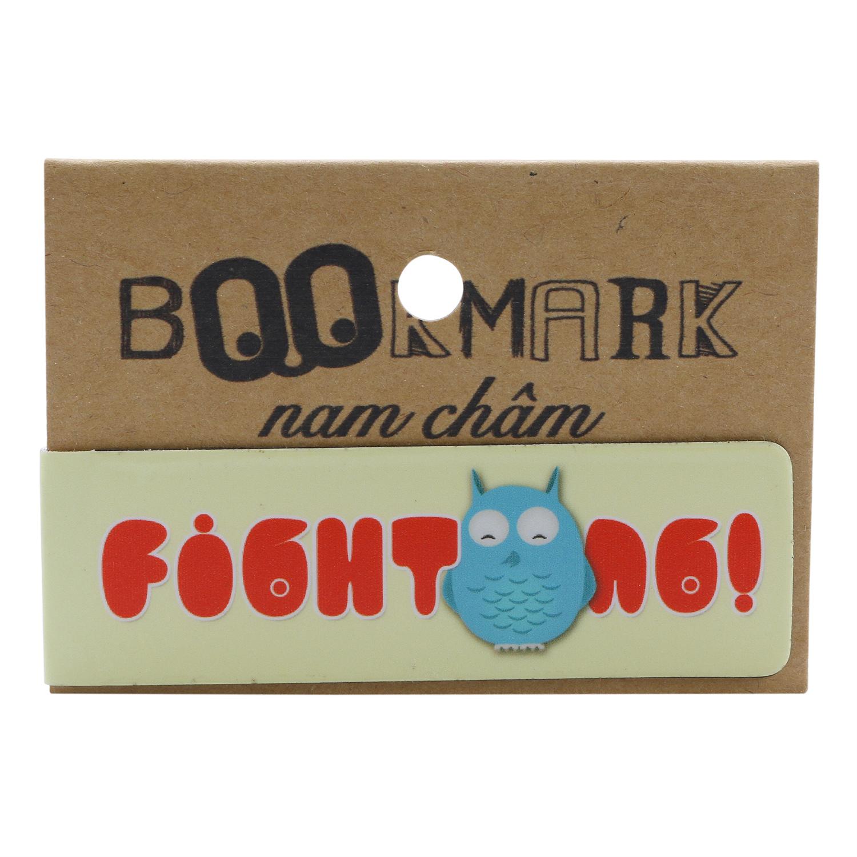 Bookmark Nam Châm Kính Vạn Hoa - Cú Mèo Fighting