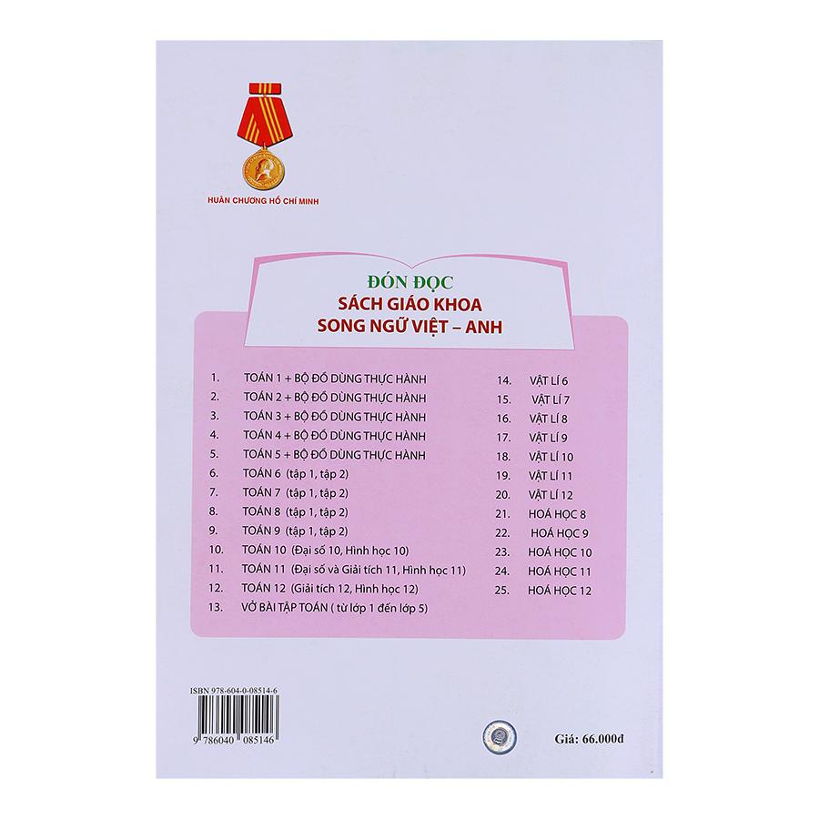 Sách Hóa Học Lớp 12 (Song Ngữ Việt - Anh)