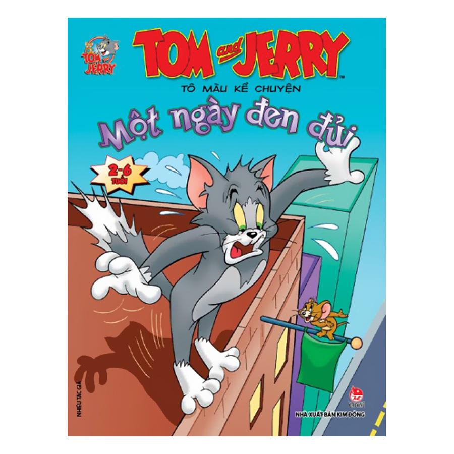 Combo Tom And Jerry Tô Màu Kể Chuyện (Trọn Bộ 10 Cuốn)