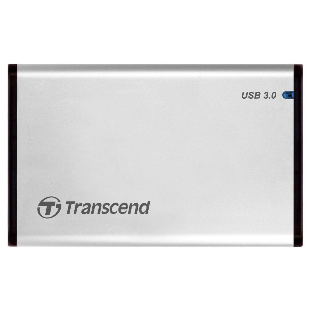 """HDD Box 2,5"""" Transcend StoreJet 25S3 USB3.0 - Hàng chính hãng"""