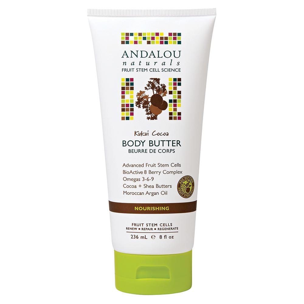 Bơ Dưỡng Thể Andalou Naturals Kukui Cocoa - 26164 (236ml)