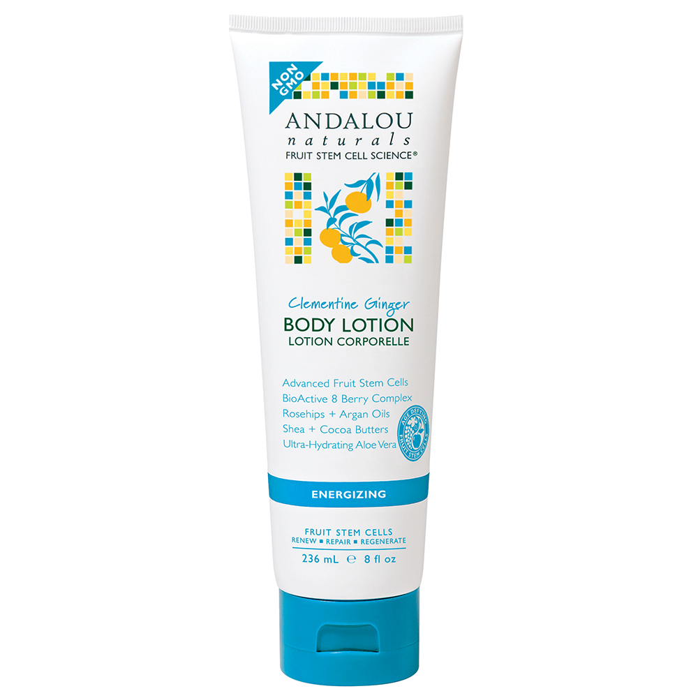 Lotion Dưỡng Thể Andalou Naturals Clementine Ginger Energizing - 26204 (236ml)