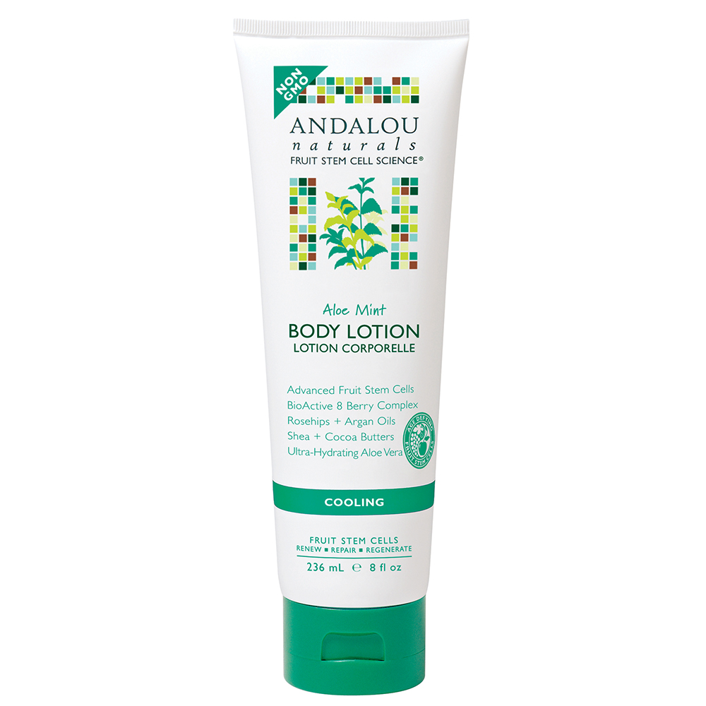 Lotion Dưỡng Thể Andalou Naturals Aloe Mint Cooling - 26205 (236ml)