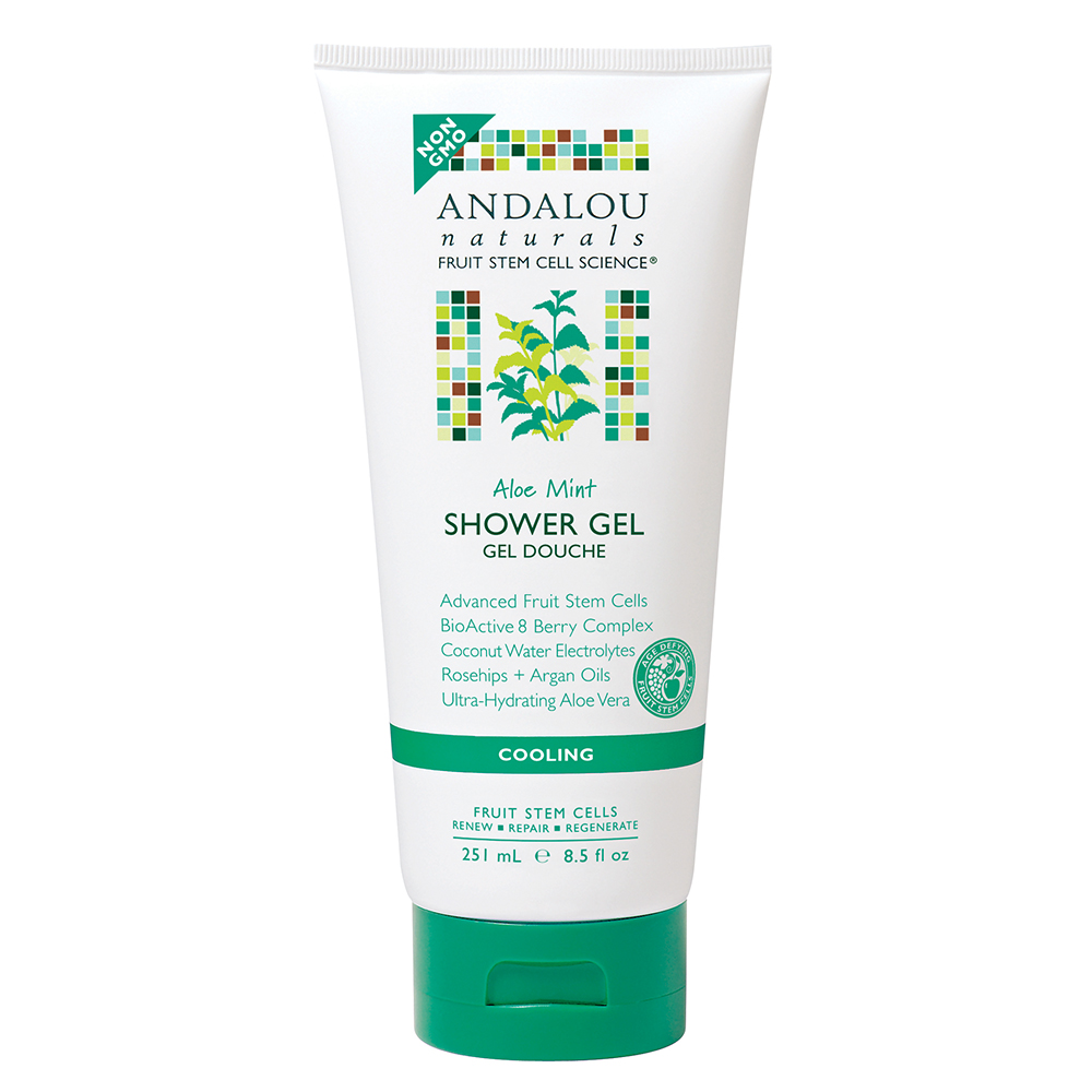 Sữa Tắm Andalou Naturals Aloe Mint Cooling - 26235 (251ml)