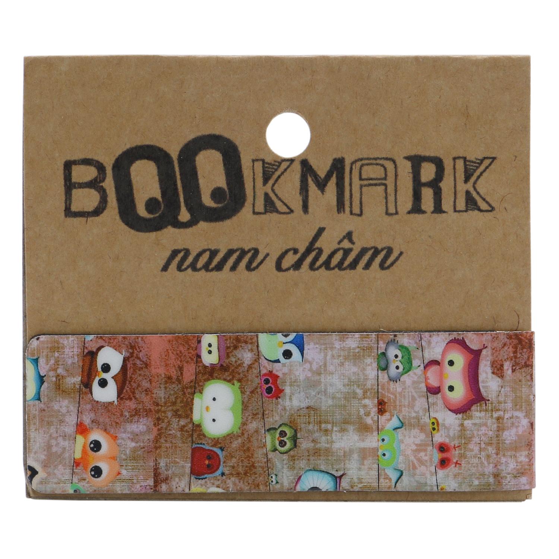 Bookmark Nam Châm Kính Vạn Hoa - Cú Mèo Tí Hon