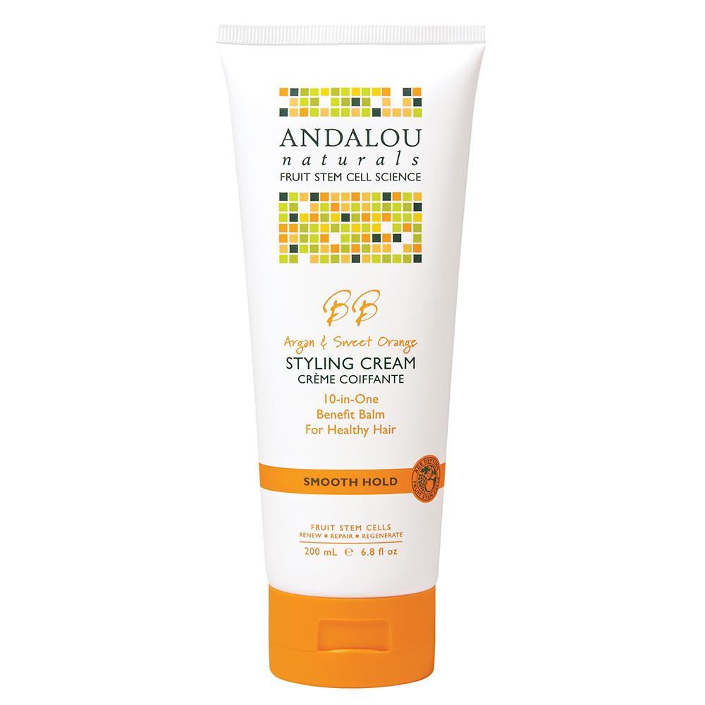 Kem Tạo Kiểu Tóc Andalou Naturals Argan & Sweet Orange - 27142 (200ml)