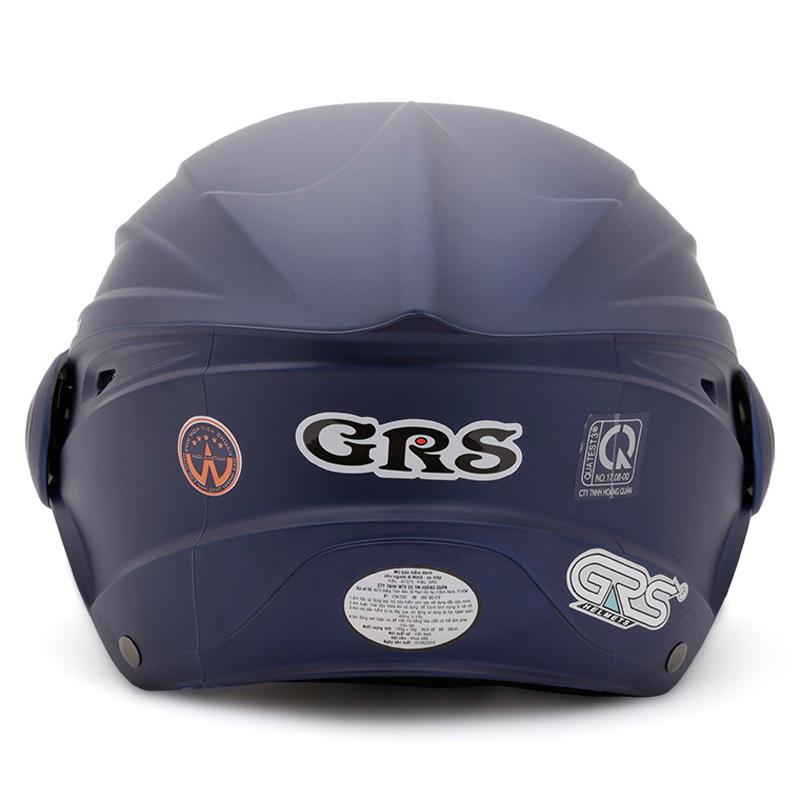 Mũ Bảo Hiểm Nửa Đầu Có Kính GRS A737K Nhám