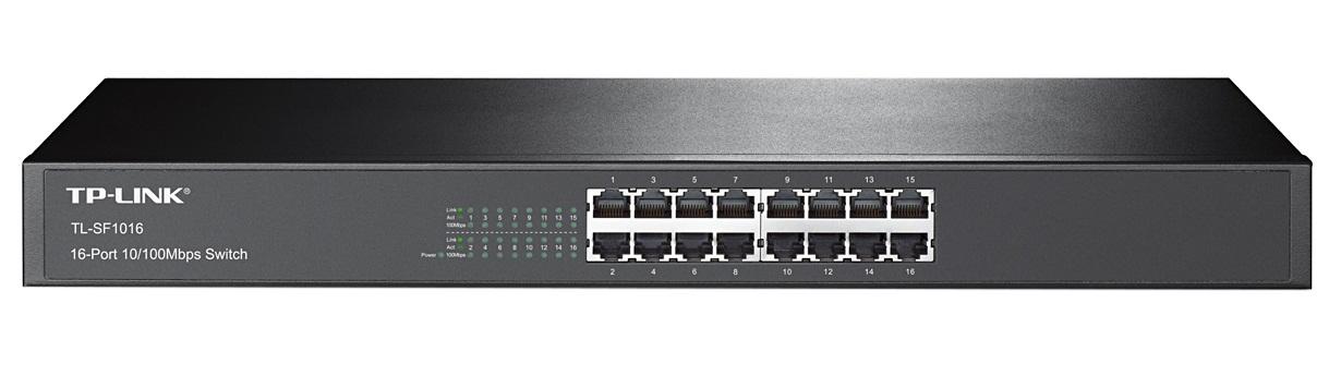 TP-LINK TL-SF1016 - Bộ Chia Mạng 16 Cổng