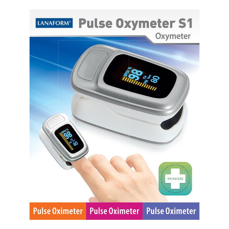 Máy Đo Nồng Độ Oxy Trong Máu (SPO2) Và Nhịp Tim Lanaform S1 LA090402