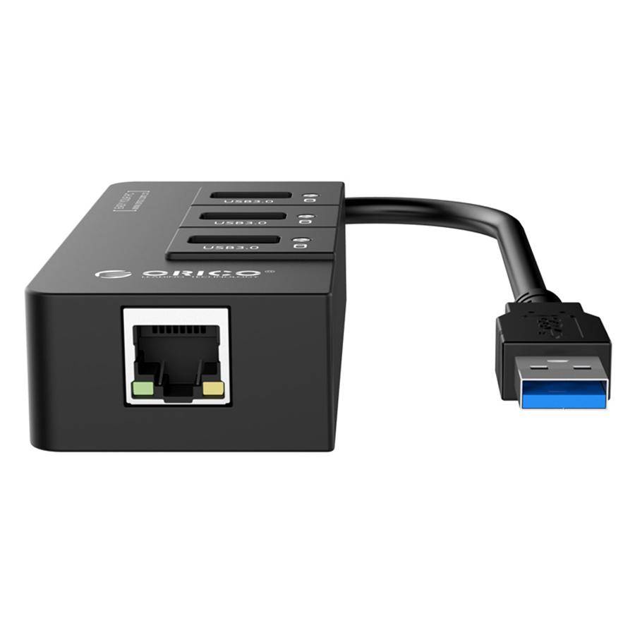Hub USB 3.0 Orico 3 Cổng HR01-U3 - Hàng Chính Hãng