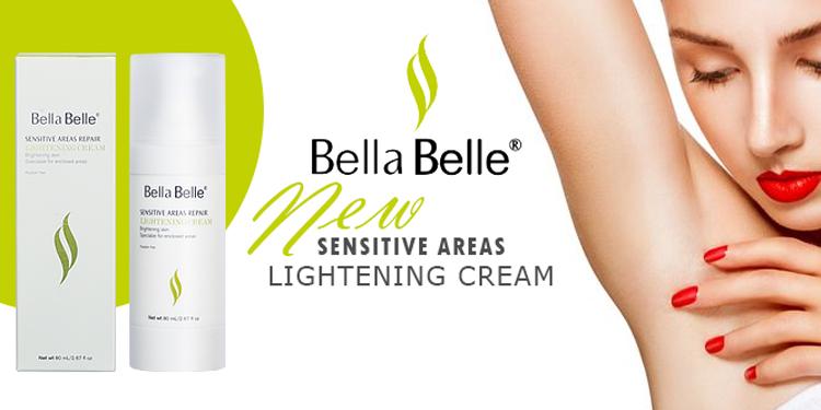 Kem Làm Trắng Vùng Nhạy Cảm Bella Belle Areas Repair Lightening Cream (80ml)