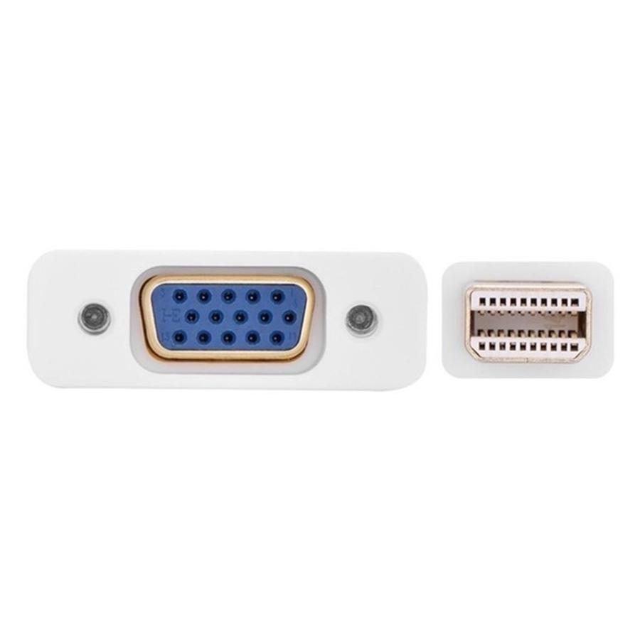Cáp Mini Displayport To VGA Ugreen 10403 - Trắng - Hàng Chính Hãng