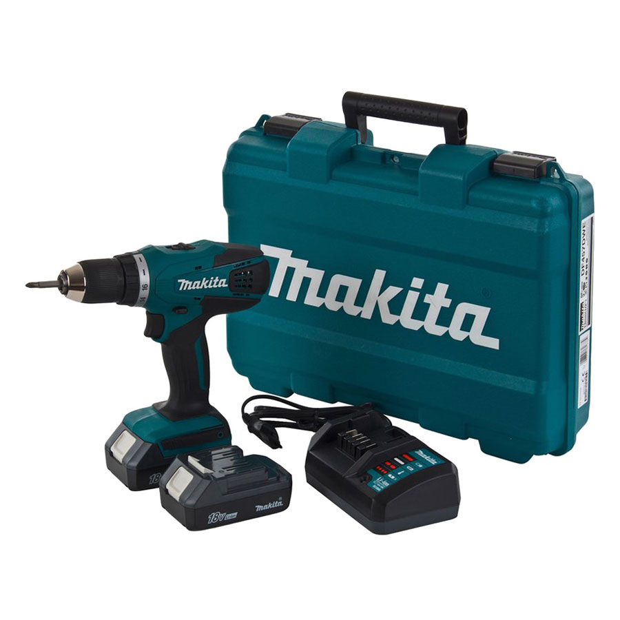 Máy Khoan Và Vặn Vít Dùng Pin Makita DF457DWE