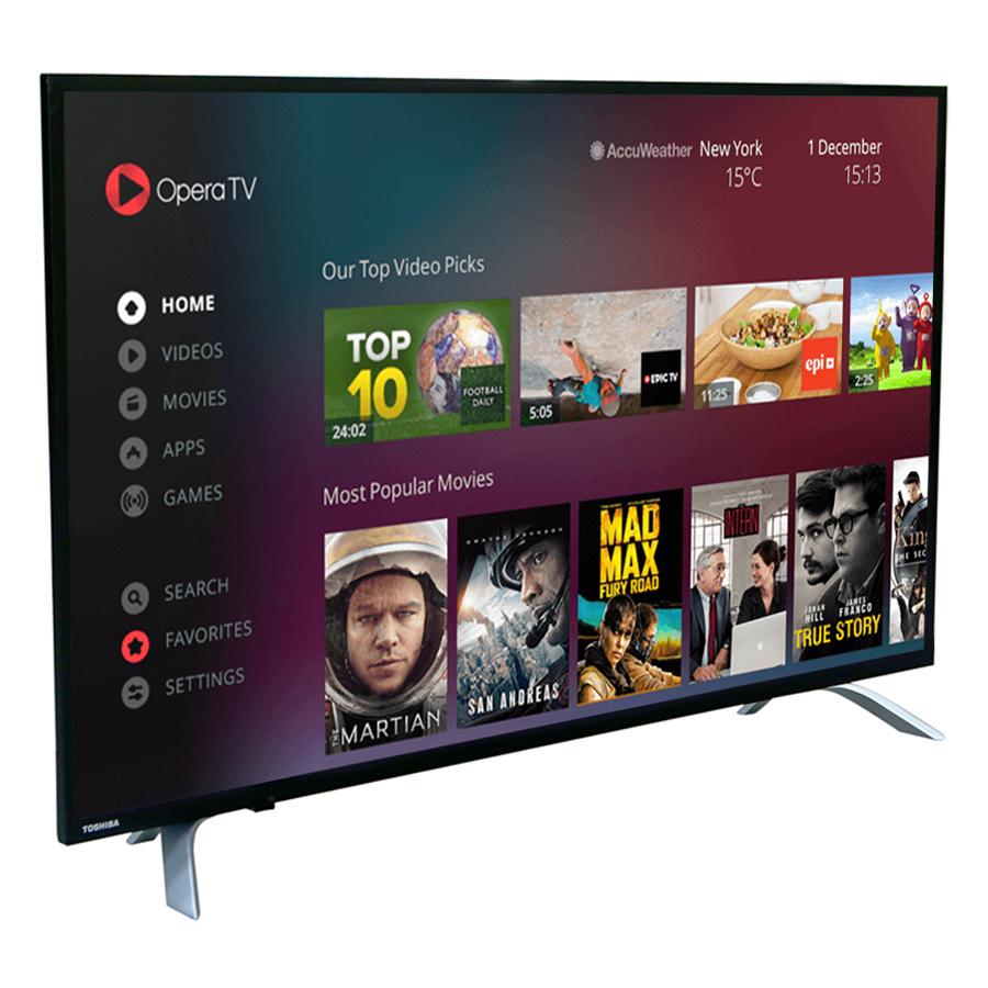 Smart Tivi Toshiba 49 inch 49U7650 - Hàng Chính Hãng
