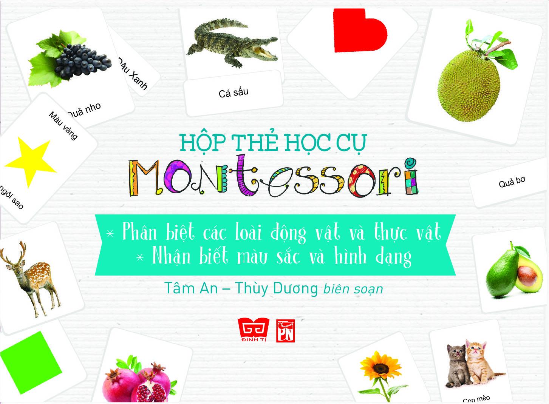 Hộp Thẻ Học Cụ Montessori: Phân Biệt Các Loài Động Vật Và Thực Vật - Nhận Biết Màu Sắc Và Hình Dạng