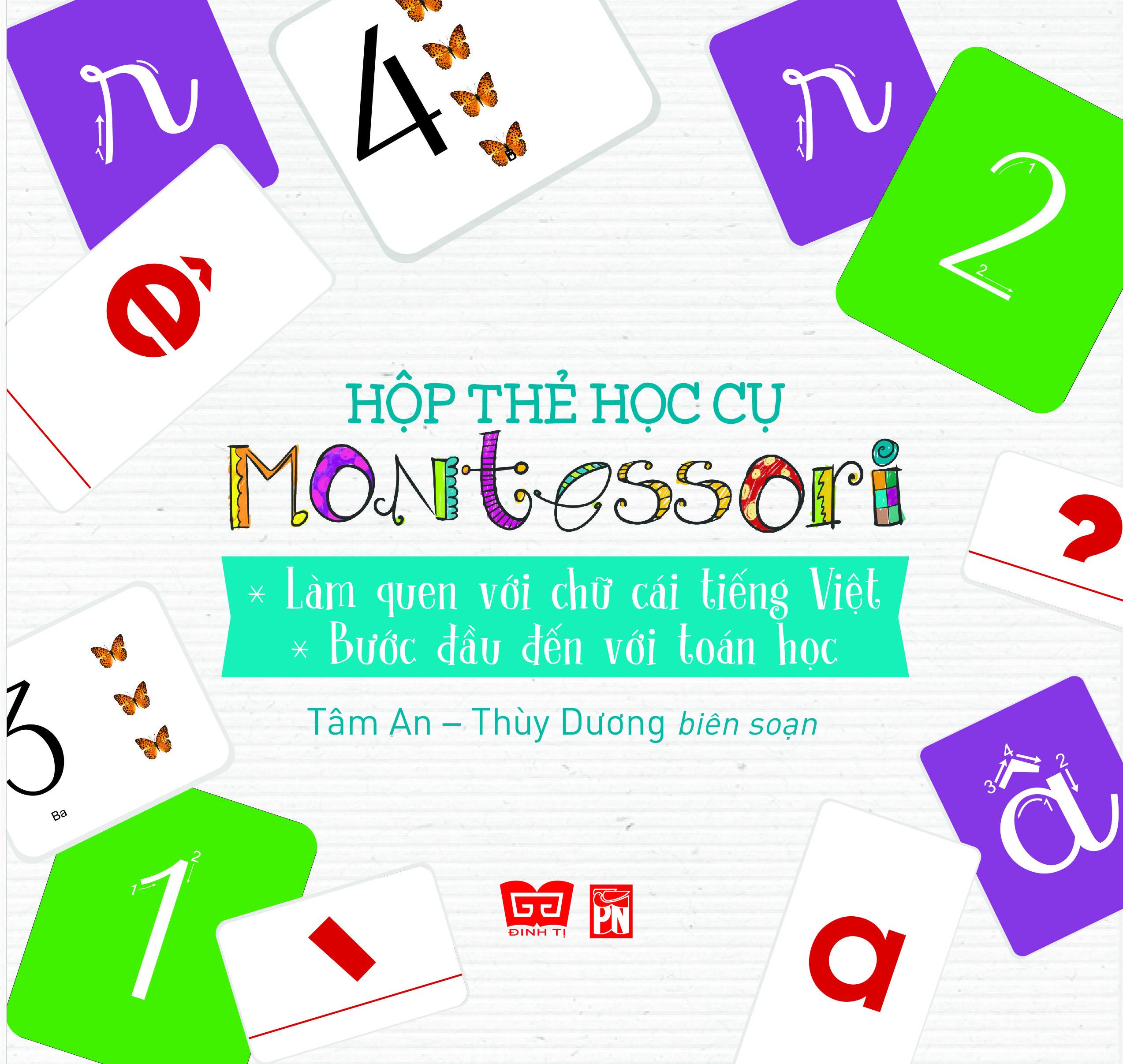 Hộp Thẻ Học Cụ Montessori: Làm Quen Với Chữ Cái Tiếng Việt - Bước Đầu Đến Với Toán Học