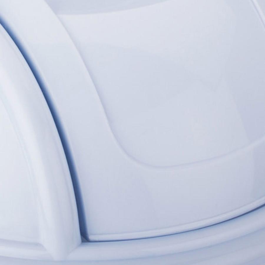 Sọt Rác Nắp Lật Homeeasy 300DCML (23.5 x 35 cm) - Giao màu ngẫu nhiên