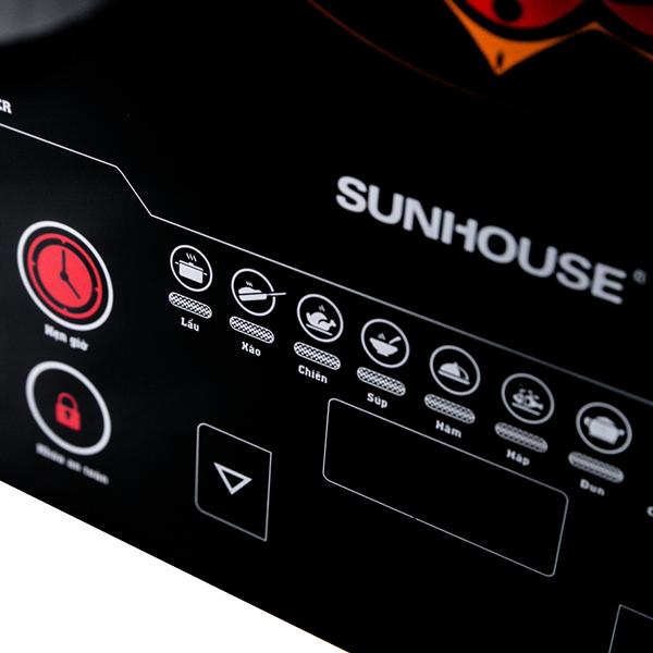 Bếp Điện Từ Cảm Ứng Sunhouse SHD6864 (Kèm Lẩu)