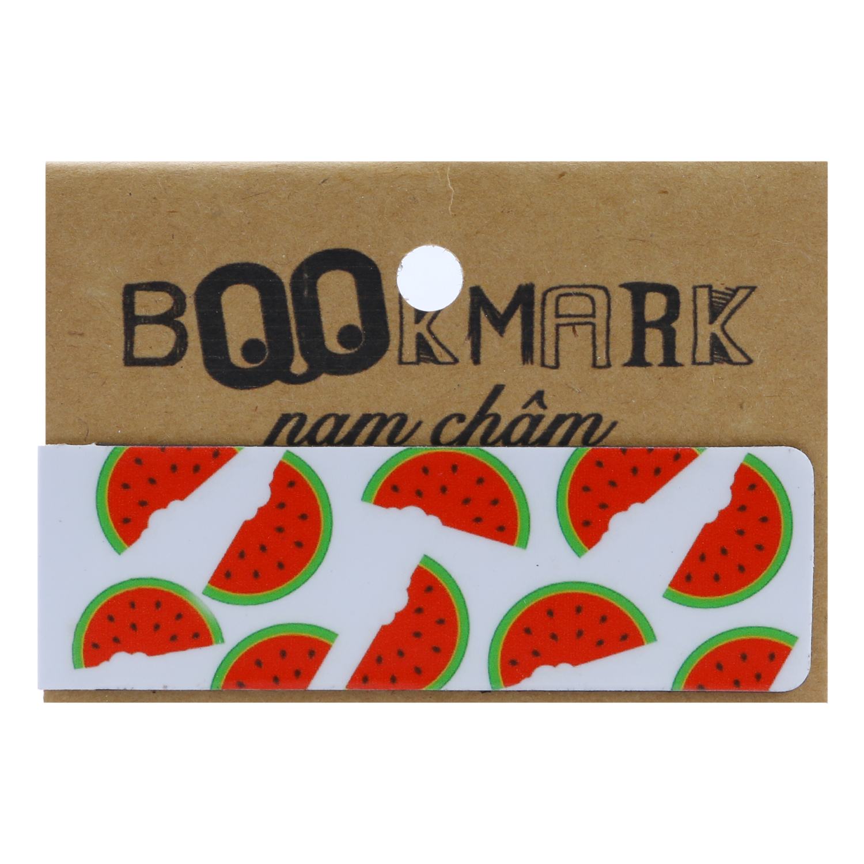 Bookmark Nam Châm Kính Vạn Hoa - Dưa Hấu