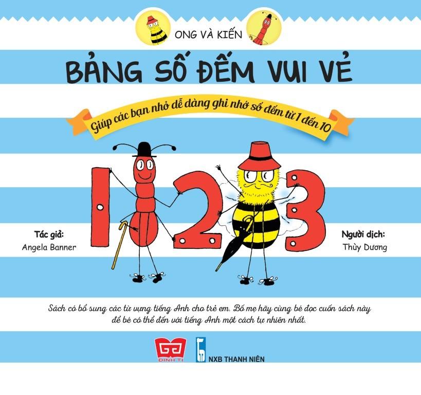 Ong Và Kiến – Bảng Số Đếm Vui Vẻ