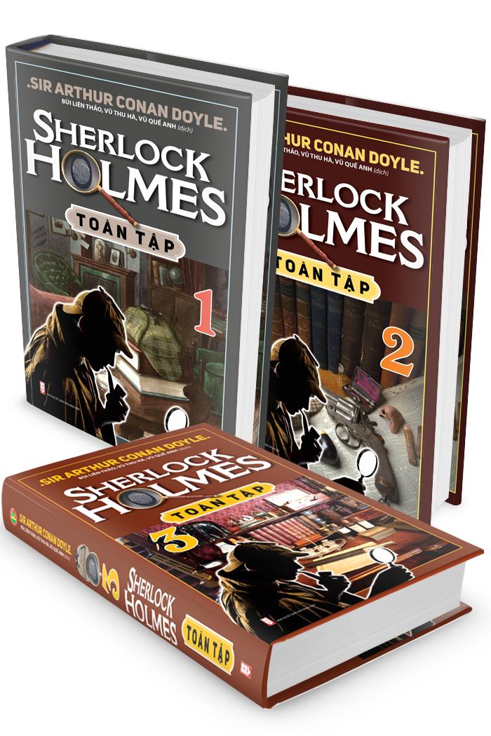 Hình ảnh Combo Sherlock Holmes Toàn Tập (Trọn Bộ 3 Tập)