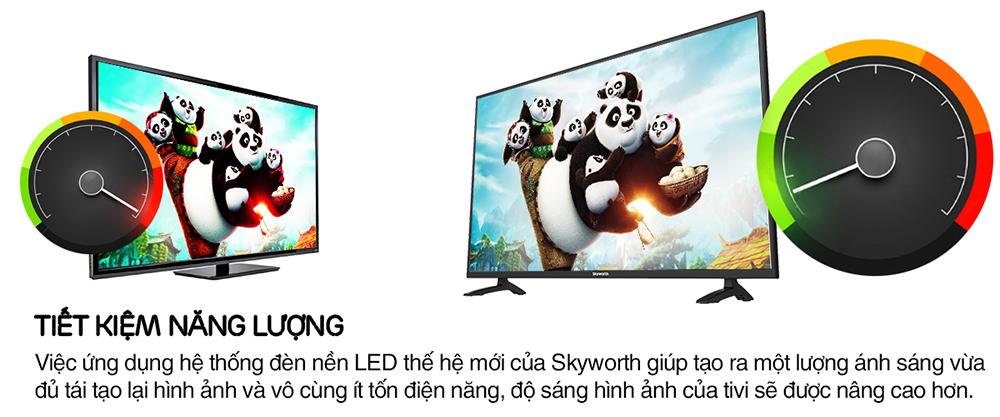 Tivi LED Skyworth 24 inch 32E390
