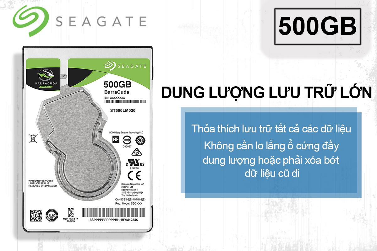 HDD Laptop Seagate Barracuda 500GB