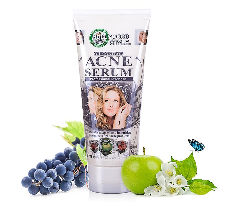 Serum hỗ trợ Trị Mụn Hollywood Style Oil Control Acne Serum (150ml)