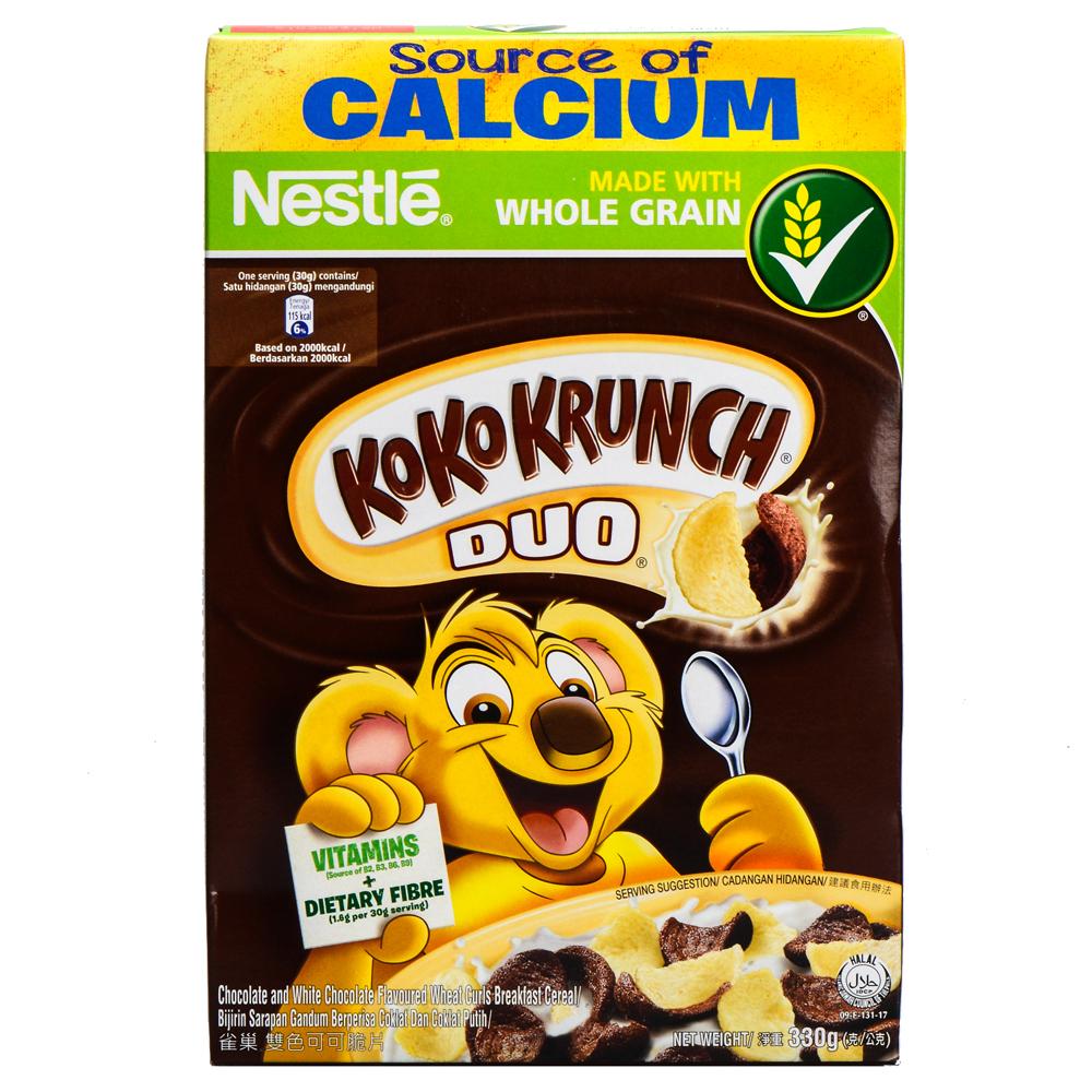 Bánh Ăn Sáng Nestle KoKo Krunch Duo (330g)