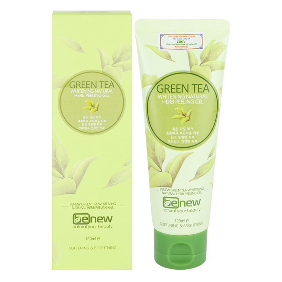 Tẩy Tế Bào Chết Trà Xanh Hàn Quốc Benew Green Tea Peeling Gel (120ml)