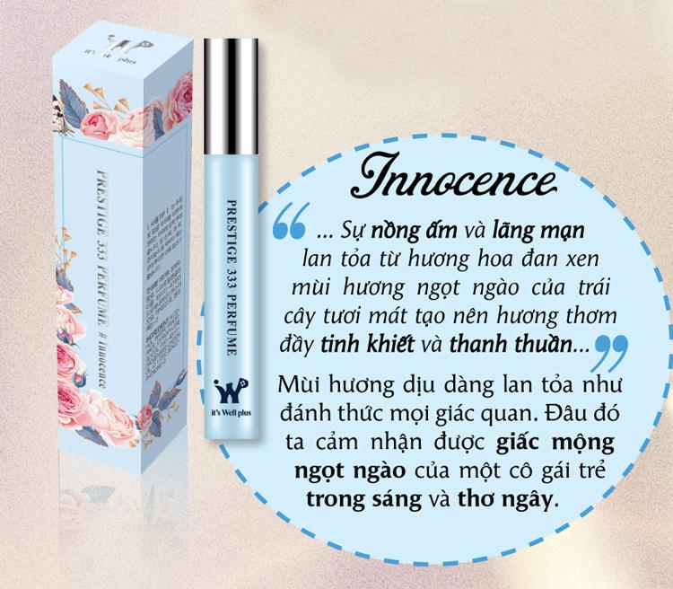 Nước Hoa It's Well Plus Prestige 333 Perfume Innocence PP-I (9ml)