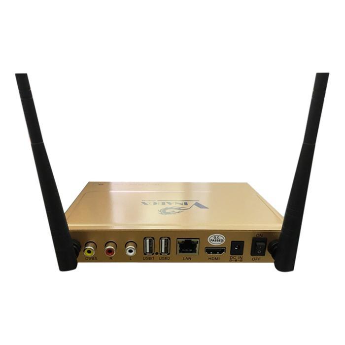 Android TV Box Vinabox X2 - Vàng Và Chuột Không Dây - Hàng Chính Hãng