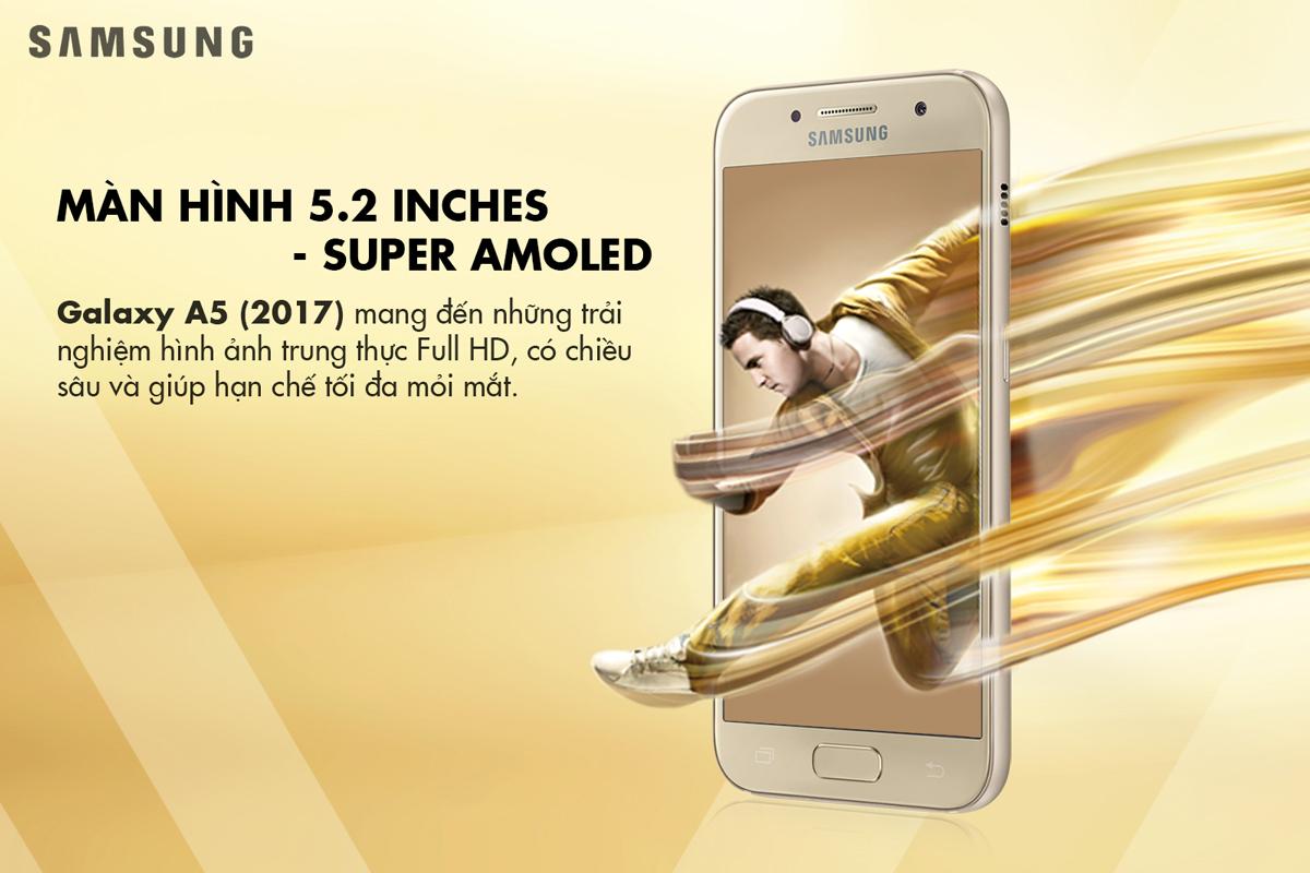 Điện Thoại Samsung Galaxy A5 2017 - Hàng Chính Hãng