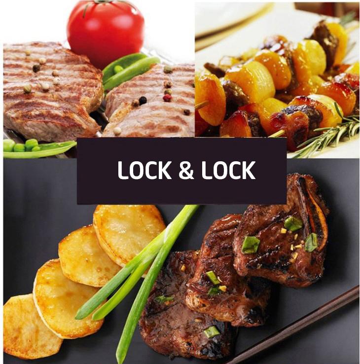 Vỉ Nướng Điện Lock&Lock EJG211BLK (1800W)