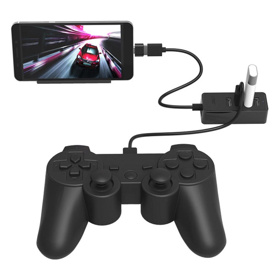 Hub USB 2.0 Orico 4 Cổng W5P-U2 - Hàng Chính Hãng