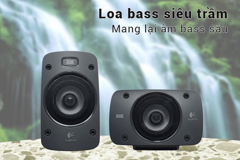 Loa Logitech Z906 Hệ Thống Loa 5.1