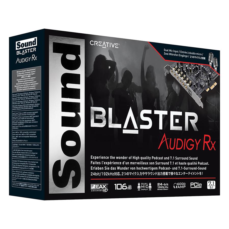 Card Âm Thanh Creative Sound Blaster Audigy Rx 7.1 - Hàng Chính Hãng