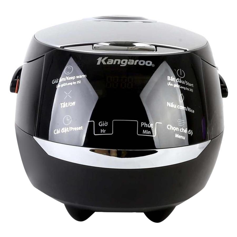 Nồi Cơm Điện Tử Kangaroo KG595 (1.8L) - Đen- Hàng chính hãng