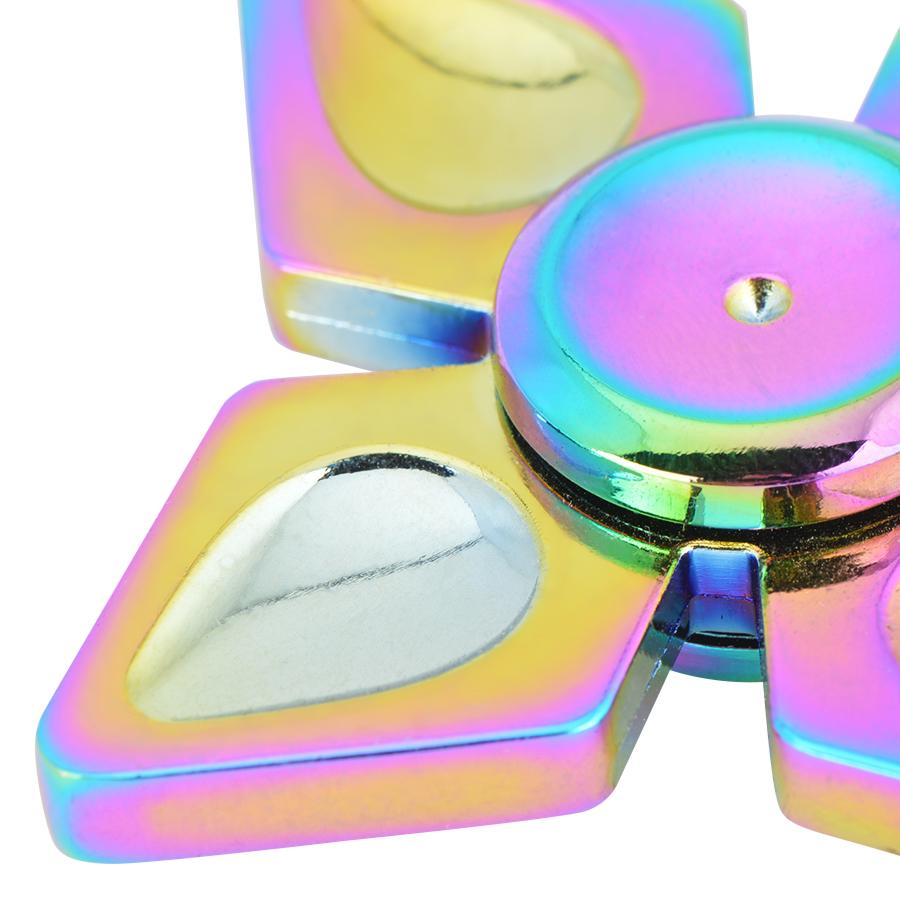 Con Quay 4 Cánh 7 Màu - Rainbow Quad-wing Spinner CQ28 - Hàng Nhập Khẩu