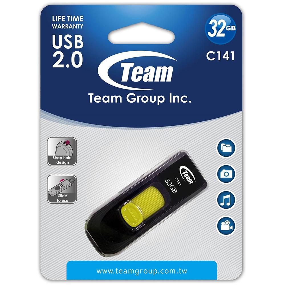USB Team 2.0 C141 32GB - Hàng Chính Hãng
