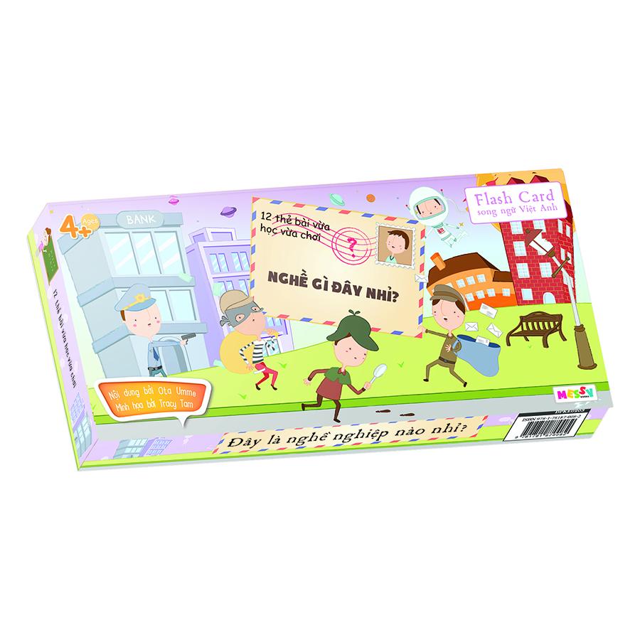 Bộ Thẻ Học Song Ngữ Guess-Silde Cards - Nghề Gì Đây Nhỉ?