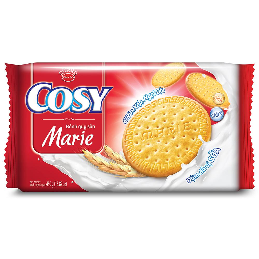 Bánh Quy Sữa Kinh Đô Cosy Marie Gói 450g
