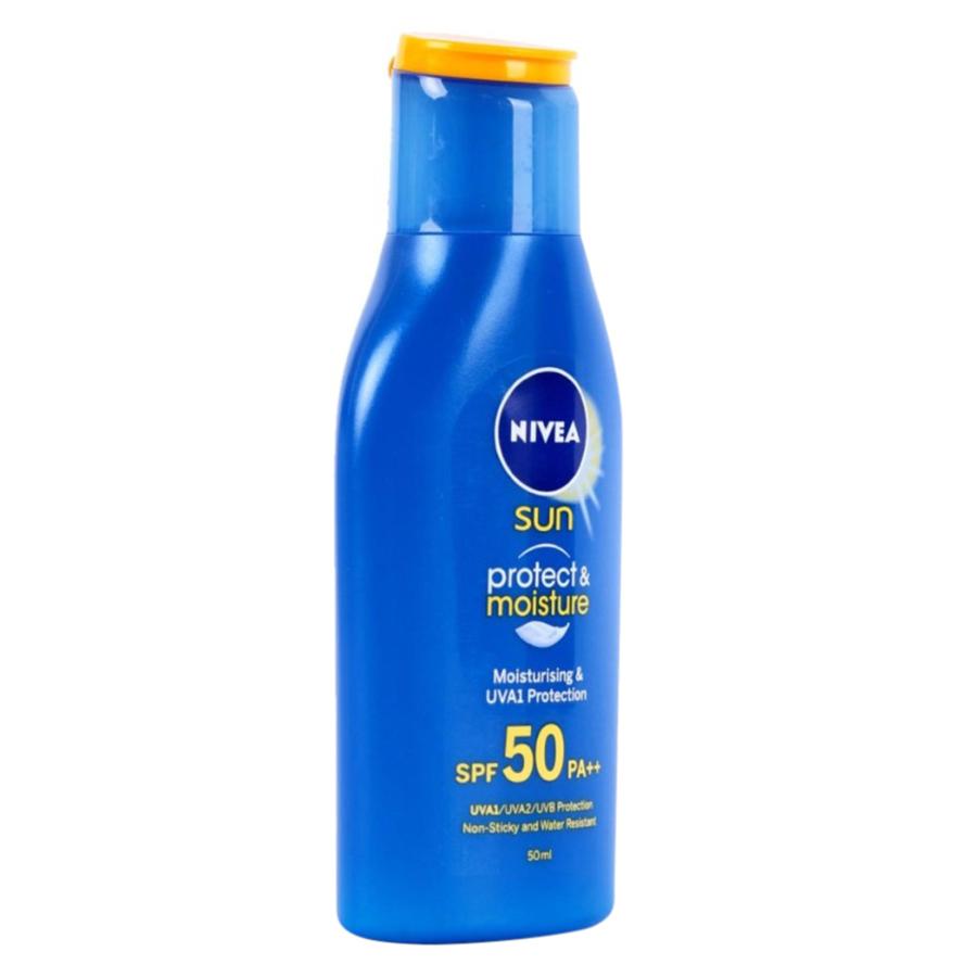 Sữa Chống Nắng Và Dưỡng Ẩm Toàn Thân Nivea SPF50 PA++ 85799 (50ml)