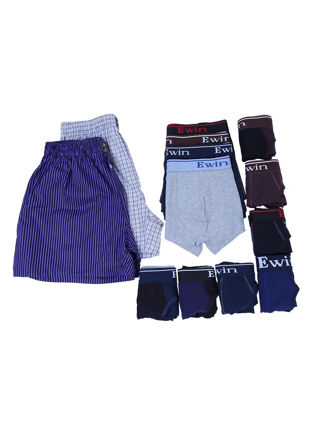 Combo Ewin EQ004: 6 Quần Lót Bikini + 4 Quần Boxer + 2 Quần Mặc Nhà Cho Nam - 9877023440363,62_3912277,844000,tiki.vn,Combo-Ewin-EQ004-6-Quan-Lot-Bikini-4-Quan-Boxer-2-Quan-Mac-Nha-Cho-Nam-62_3912277,Combo Ewin EQ004: 6 Quần Lót Bikini + 4 Quần Boxer + 2 Quần Mặc Nhà Cho Nam