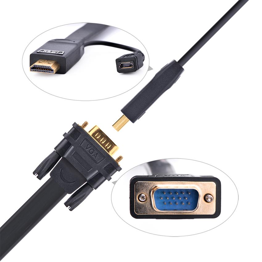 Cáp Chuyển Đổi HDMI Sang VGA Ugreen (40232) - 3m