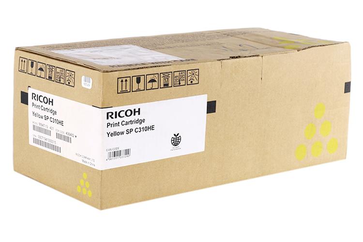 Mực In Máy In Màu Ricoh 407538 - Vàng - SP C252S